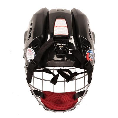 Back View (CCM Tacks 110 Hockey Helmet Combo)