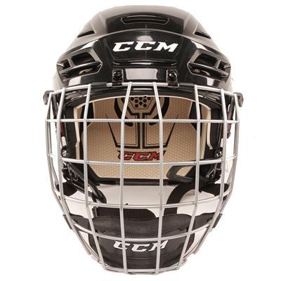 Front View (CCM Tacks 110 Hockey Helmet Combo)