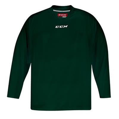 Front (CCM 5000 Practice Jersey - Dark Green - Junior)