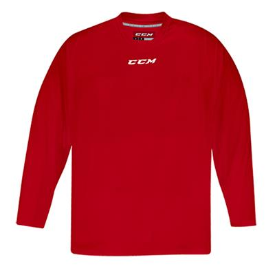 Front (CCM 5000 Practice Jersey - Red - Junior)