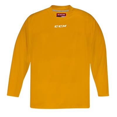 Front (CCM 5000 Practice Jersey - Sunflower - Junior)