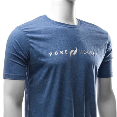 White (Pure Hockey Classic Royal Tee - Adult)