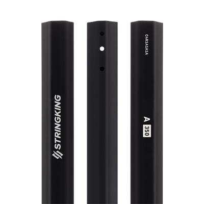 Black (StringKing A 350 Defense Lacrosse Shaft)