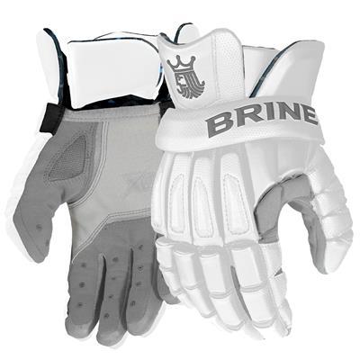 White (Brine King Elite Mens Glove)