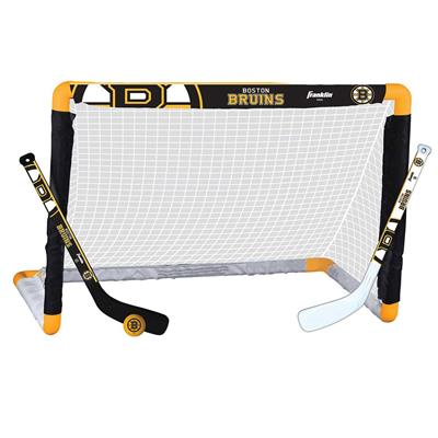 NHL Team Mini Goal Set - BOS (Franklin NHL Team Mini Hockey Goal Set - Boston Bruins)