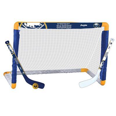 NHL Team Mini Goal Set - BUF (Franklin Franklin NHL Team Mini Hockey Goal Set - Buffalo Sabres)