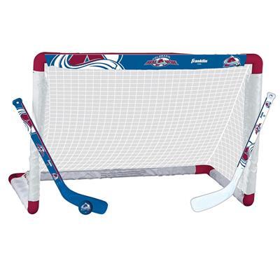 NHL Team Mini Goal Set - COL (Franklin NHL Team Mini Hockey Goal Set - Colorado Avalanche)