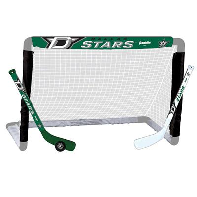 NHL Team Mini Goal Set - DAL (Franklin Franklin NHL Team Mini Hockey Goal Set - Dallas Stars)