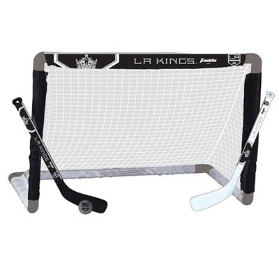 NHL Team Mini Goal Set - LAK (Franklin Franklin NHL Team Mini Hockey Goal Set - Los Angeles Kings)