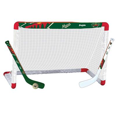 NHL Team Mini Goal Set - MIN (Franklin NHL Team Mini Hockey Goal Set - Minnesota Wild)
