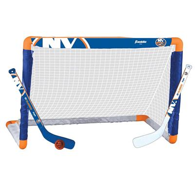 NHL Team Mini Goal Set - NYI (Franklin NHL Team Mini Hockey Goal Set - New York Islanders)