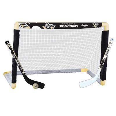 NHL Team Mini Goal Set - PIT (Franklin NHL Team Mini Hockey Goal Set - Pittsburgh Penguins)