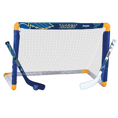 NHL Team Mini Goal Set - STL (Franklin Franklin NHL Team Mini Hockey Goal Set - St. Louis Blues)