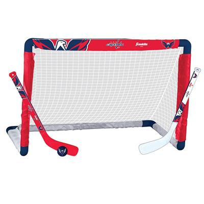 NHL Team Mini Goal Set - WAS (Franklin NHL Team Mini Hockey Goal Set - Washington Capitals)