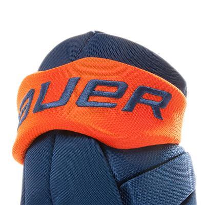 Cuff View (Bauer Pure Hockey Custom Vapor Team Hockey Glove - Youth)