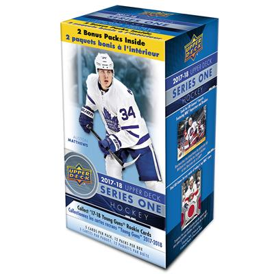 Blaster Box - 12 Packs - 5 Cards Per Pack (Upper Deck NHL 2017-18 Series 1 Hockey Blaster Box)