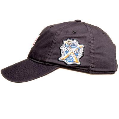 Side (Adidas New York Rangers Winter Classic Adjustable Hat)