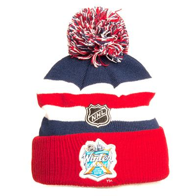 Back (Adidas New York Rangers Winter Classic Youth Knit Hat) 3df9ec1c6a1
