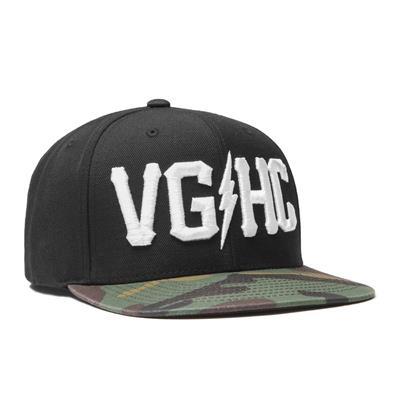 VGHC Snapback BlackCamo (Violent Gentlemen Hockey Club Snapback - Black/Camo)