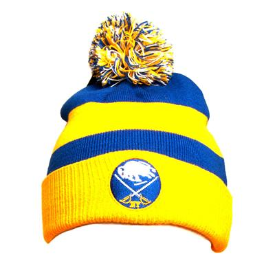 Front (Adidas Buffalo Sabres Winter Classic Youth Knit Hat)