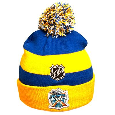 Back (Adidas Buffalo Sabres Winter Classic Youth Knit Hat)