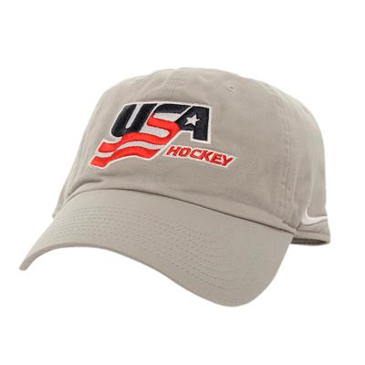 Back (Nike USA Hockey Adjustable RiNK Cap - Adult)
