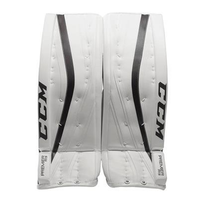 White/Navy (CCM Premier R1.9 Goalie Leg Pads)