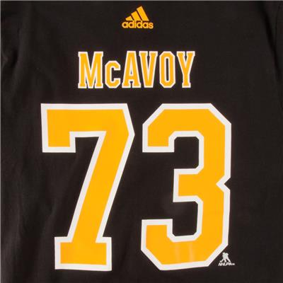 Bruins McAvoy SS Tee Black (Adidas Bruins McAvoy SS Tee Black)