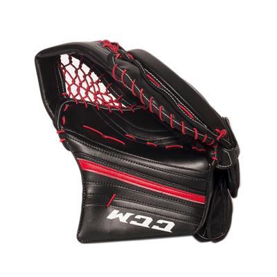 Black/Red (CCM Premier R1.9 Goalie Catch Glove)