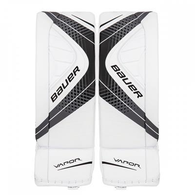 White/Black (Bauer Vapor X900 Goalie Leg Pads - Senior)