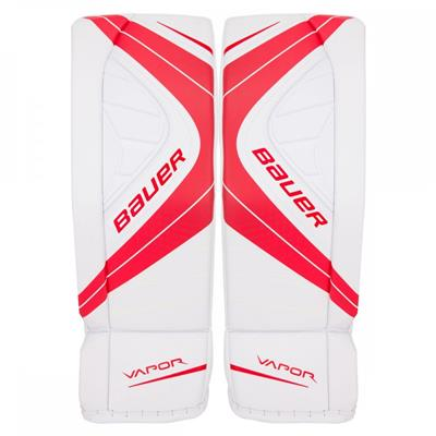 White/Red (Bauer Vapor X900 Goalie Leg Pads)