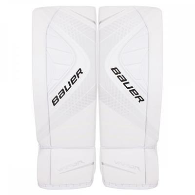 White/White (Bauer Vapor X900 Goalie Leg Pads - Senior)