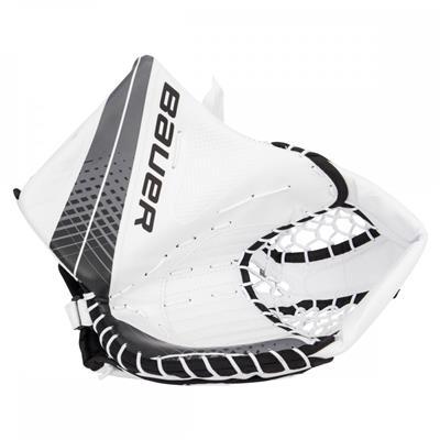 White/Black (Bauer Vapor X900 Goalie Catch Glove - Senior)