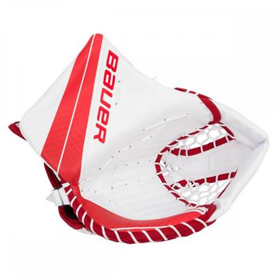 White/Red (Bauer Vapor X900 Goalie Catch Glove - Senior)