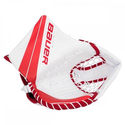 White/Red (Bauer Vapor X900 Catch Glove)