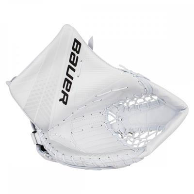 White/White (Bauer Vapor X900 Goalie Catch Glove - Senior)