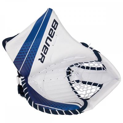 White/Navy (Bauer Vapor X900 Goalie Catch Glove - Senior)