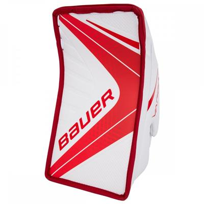 White/Red (Bauer Vapor X900 Goalie Blocker - Senior)