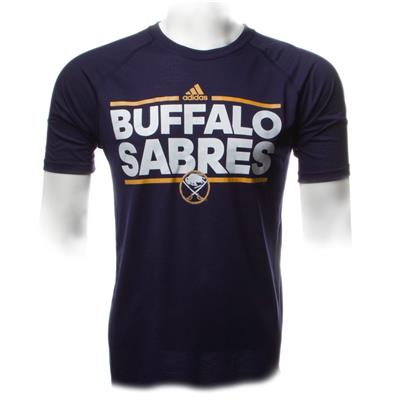 Sabres Dassler SS Tee (Adidas Buffalo Sabres Dassler Short Sleeve Tee)