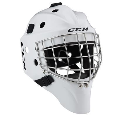 White (CCM 1.5 Goalie Mask)