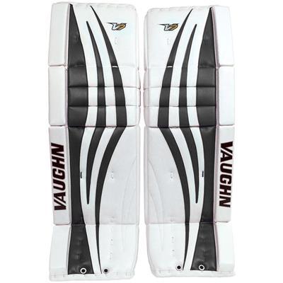 White/Black (Vaughn Velocity 7 XF Pro Goalie Leg Pads)
