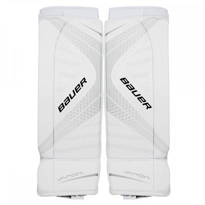 White/White (Bauer Vapor X700 Hockey Goalie Leg Pads - Junior)
