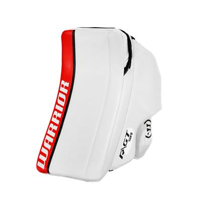 White/Red/Black (Warrior Ritual GT Classic Goalie Blocker)
