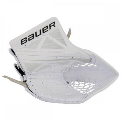 White/White (Bauer Supreme S170 Catch Glove - 2017)