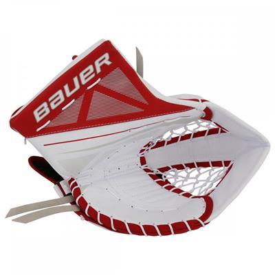 White/Red (Bauer Supreme S170 Catch Glove - 2017)