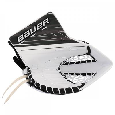 White/Black (Bauer Supreme S190 Catch Glove)