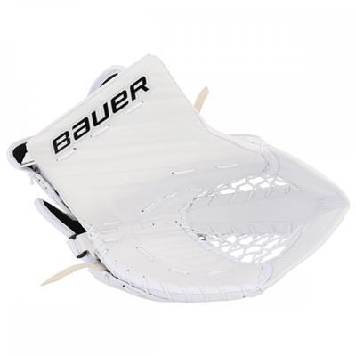 White/White (Bauer Supreme S190 Catch Glove)