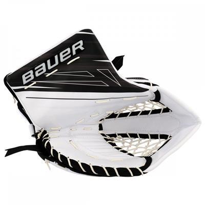 White/Black (Bauer Supreme 1S OD1N Catch Glove)