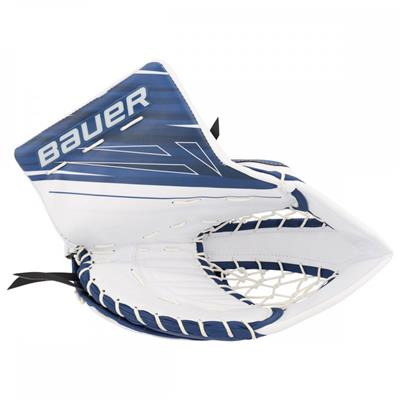 White/Blue (Bauer Supreme 1S OD1N Goalie Catch Glove)