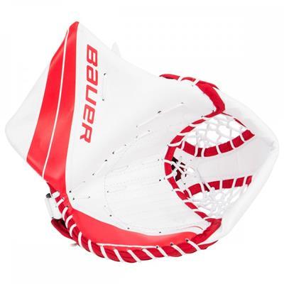 White/Red (Bauer Vapor X700 Catch Glove - Junior)